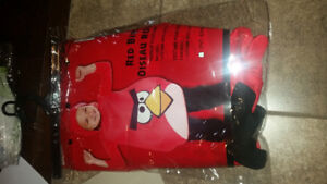 Angry birds costume 3-4T