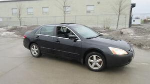 2004 Honda Accord,EX-L, Leather,roof, Auto,3/Y Warranty avaliab
