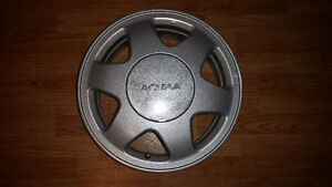 "Set of 15"" alloy rims for Acura or Honda -- 4x114"