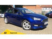 2016 Ford Focus 1.0 EcoBoost 125 Zetec S (Nav) Manual Petrol Hatchback