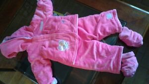 Baby girl snowsuit 6-12 months