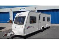 2008 Bailey Pageant Burgundy S6 FIXED BED