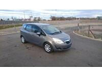 "VAUXHALL MERIVA 1.4 16v EXCLUSIVE 5 DOOR 2010 ""60"" REG FACTORY CHARCOAL METALLIC"