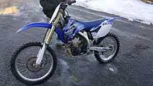Yz250f top clean