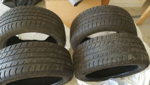 4 Almost Brand New All Seasons Tires For Sale