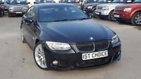 2010 BMW 3 SERIES 335D M SPORT TWIN TURBO COUPE LOVELY LOW MILEAGE AND FBMSH