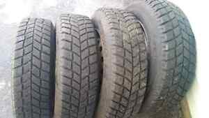 Almost brand new Winter Tires 175 70 13