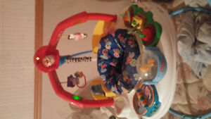 battery operated exersaucer