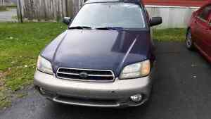 2001 outback for trades