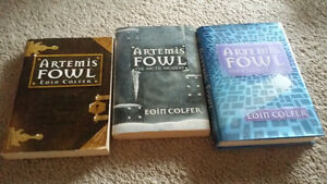 Artemis Fowl Books 1-3 London Ontario image 1