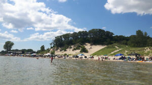 Have you ever been to Sherkston Shores Beach in Ontario?