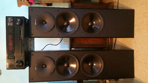 Nuance speakers with  Pioneer reciever & 8 inch Vector subwoofer