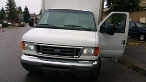 2006 ford diesel  tone truck for sale