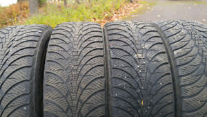 Goodyear Ultra Grip Ice with Rims 215-55-16