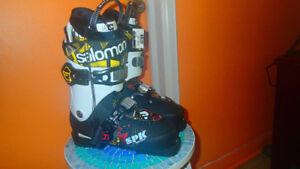 Bottes de skis Salomon SPK Kid Pro neuf 297 mm 25 /25.0
