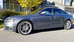 2012 Audi A4-S, no accidents, one owner, 77,500 km.  New price!