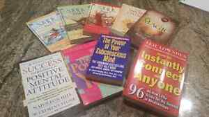 Brand new Lot of 5 Spiritual Motivational Self-help books