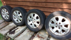 "4 - 16"" Alloy Wheels from 2004 Honda Odyssey"