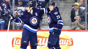 SEP 25 - FLAMES @ JETS - 2 (OR 4) TICKETS