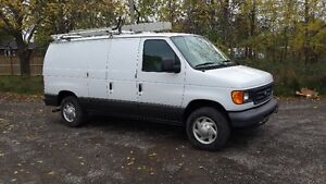 2007 Ford E-250 commercial Van,ready for the road