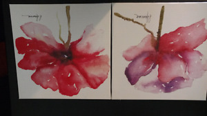 Floral Canvases