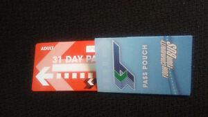 31 Day Adult St. Catharines Bus Pass for $60.00 ~Regular $92.00