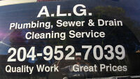 A.L.G. Plumbing, Sewer & Drain Cleaning Services