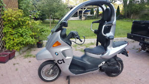 BMW c1 motorcycle scooter