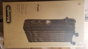 Brand new in box Delonghi radiator heater