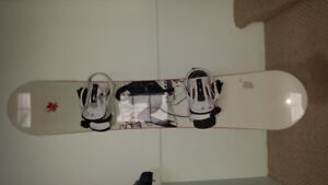 Snowboard, Bindings and Polarized Goggles