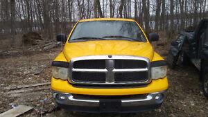 2 Dodge ram 1500 part outs (2nd gen, 3rd gen)