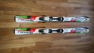 Parabolic skis