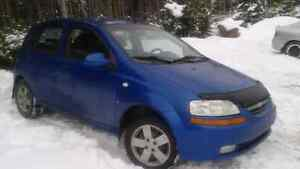 2008 Chevy aveo hatchback