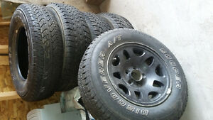 5 - 15 inch tires excellent condition
