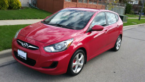 2013 Hyundai Accent PERFECT CONDITION ,90,000(safety + E test)
