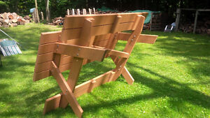 NEW 6 FOOT SPRUCE PICNIC TABLE Kitchener / Waterloo Kitchener Area image 2