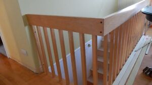 Rampe d'escalier érable (Nicolet)