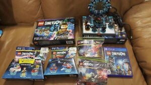 Lot de Lego Dimensions pour PS4, Ghostbusters, Potter ++