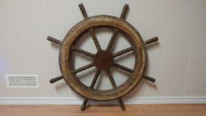 Antique Ships Wheel (Rare)