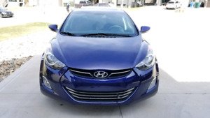 2013 Hyundai Elantra limited with navigation