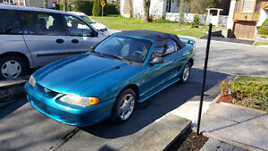 1994 Ford Mustang convertible Cabriolet