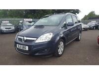 VAUXHALL ZAFIRA 1.7 CDTI ELITE ECOFLEX 6 SPEED 7 SEATER 2011 / FULL HISTORY