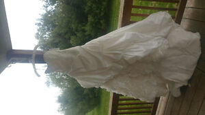 Never worn wedding dress