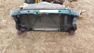 Dodge ram radiator package