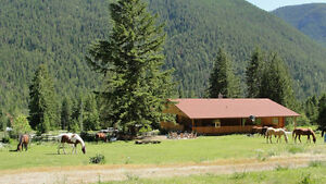 1129 Creighton Valley Rd, Lumby BC - Camel's Hump Guest Ranch!