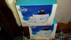 TWO NEW INFLATEABLE SNOW FORTS