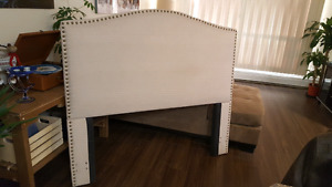 Queen/ Double headboard and bed frame
