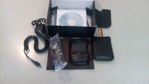 Blackberry Curve Cellphone with case and chargers
