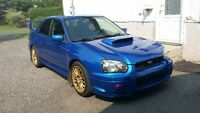 subaru wrx sti 2004(sleever forger eagle)+400hp