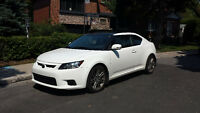 .LEASE TRANSFER- 2013 SCION TC WHITE COUPE (2 door)